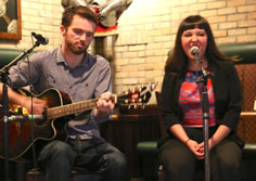 Jay Buchanan & Chelsey Young performing