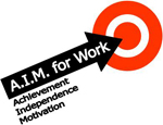 AIM for Work logo