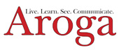 Arogo logo and link to their website