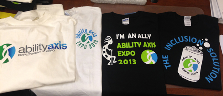 photo of 2011 - 2014 Expo t-shirts